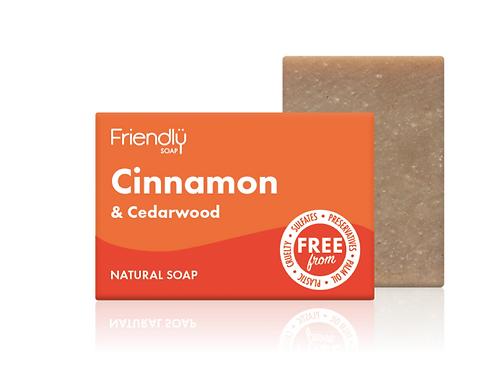 Friendly Soap - Cinnamon & Cedarwood