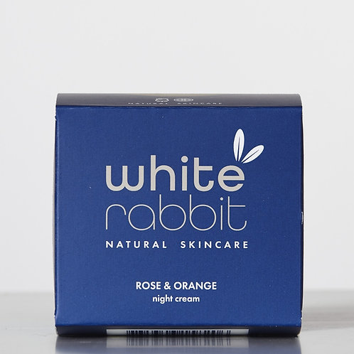 White Rabbit Rose & Orange Night Cream