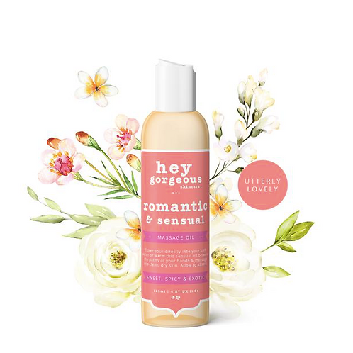 Sensual Bath and Massage Oil By Hey Gorgeous