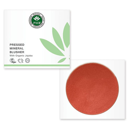 PHB Ethical Pressed Mineral Blusher Spf 15 - Tea Rose