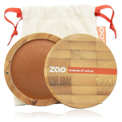 Zao Mineral Cooked Powder - Golden Bronze (343)