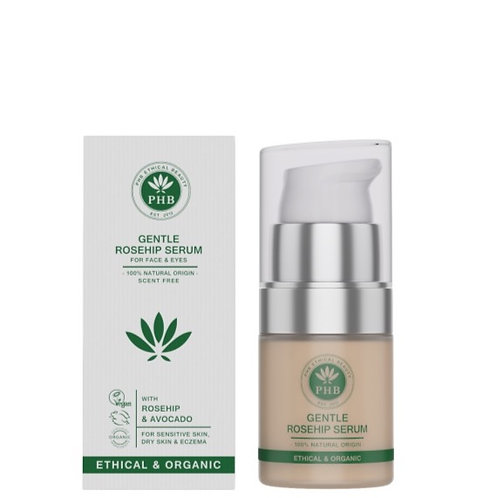 PHB Gentle Face & Eye Serum | with Rosehip & Avocado | Scent Free