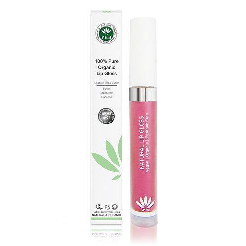 PHB 100% Pure Organic Lip Gloss - Raspberry