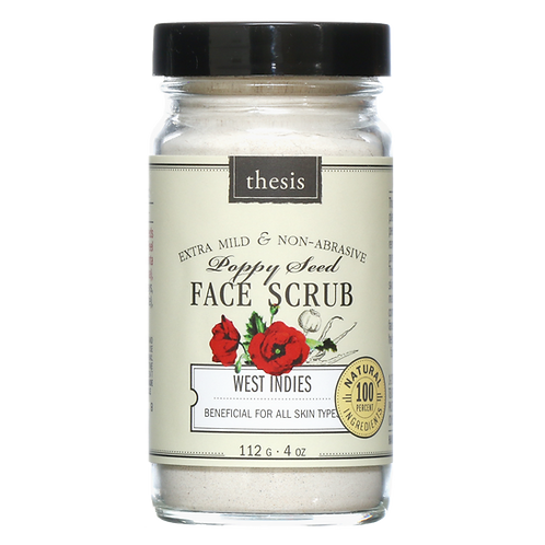 Thesis Poppy Seed Face Scrub