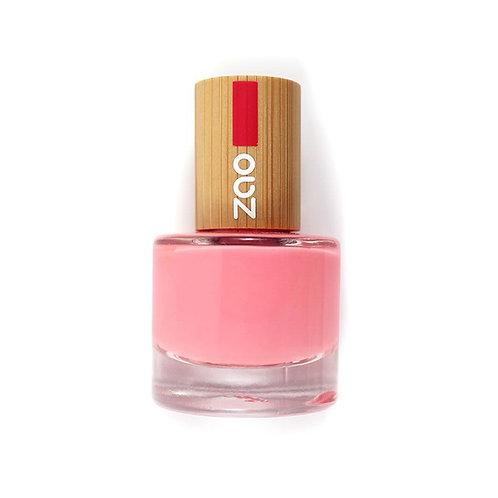 Zao Nail Polish - Hot Pink (654)