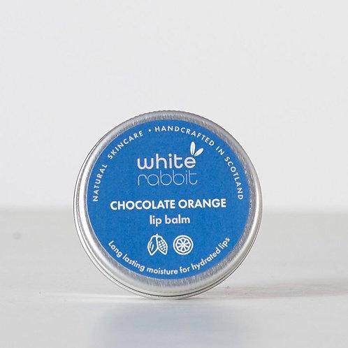 White Rabbit Chocolate Orange Lip Balm