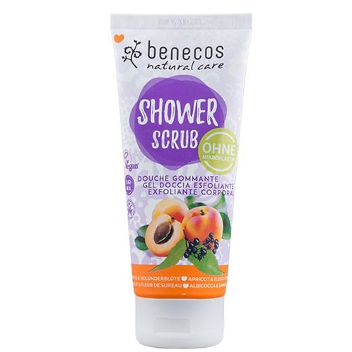 Benecos Apricot & Elderflower Body Scrub 200ml
