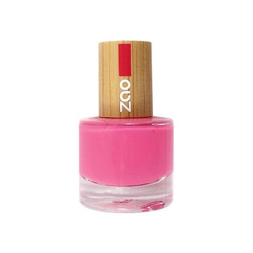 Zao Nail Polish - Fuchsia Pink (657)