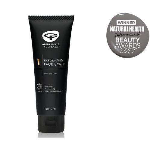 Green People for Men No.1 Exfoliating Face Scrub 100ml
