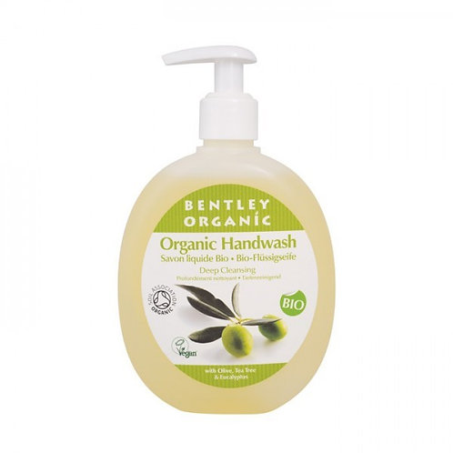Bentley Organic Deep Cleansing Handwash with Olive, Tea Tree & Eucalyptus 250ml