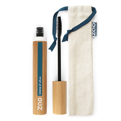 Zao Refillable Volume & Sheathing Mascara -Ebony (085)