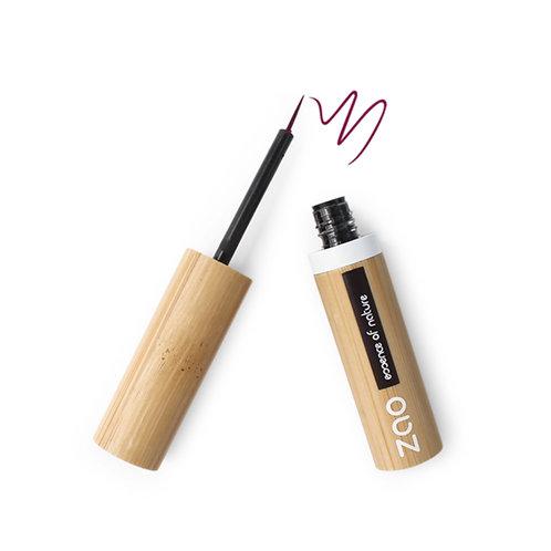Zao Refillable Liquid Eyeliner - Plum (074)