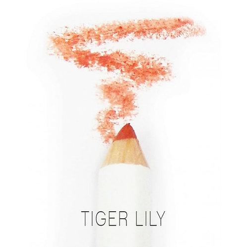 PHB Organic Lip Crayon - Tiger lily