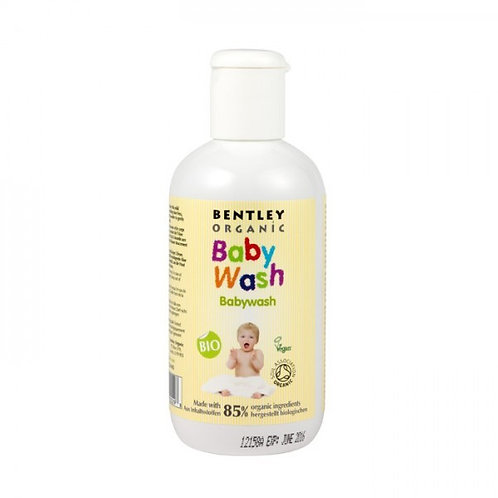 Bentley Organic Baby Wash with Aloe Vera, Chamomile and Lavender 250ml