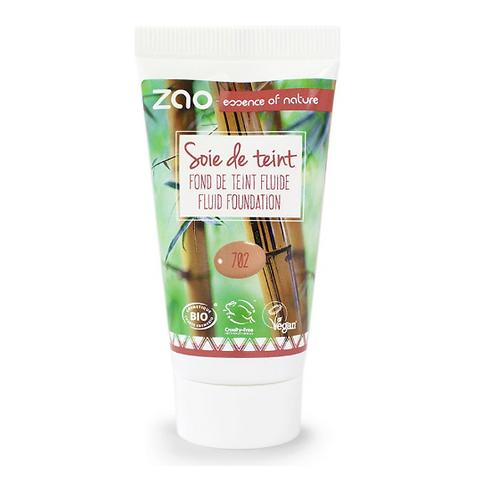 Zao Silk Foundation Refill - Apricot (702)