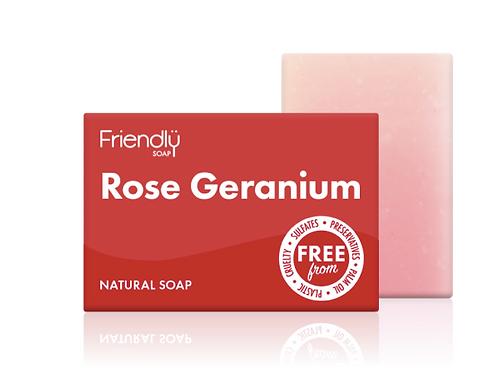 Friendly Soap - Rose Geranium