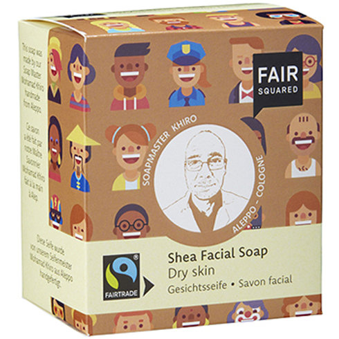 Fair Squared Shea Facial Soap - For Dry Skin - 2 x 80g