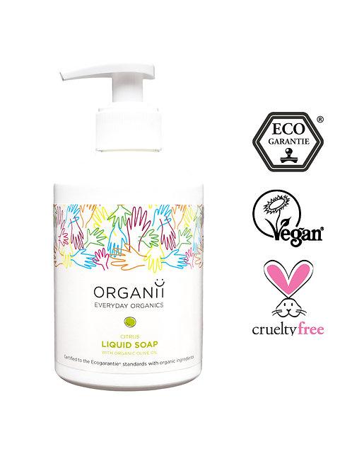 Organii Liquid Soap 300ml - Citrus