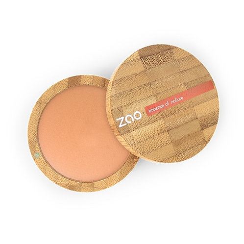 ZAO 'Natural Glow' Terracotta Matt Mineral Cooked Powder (347)