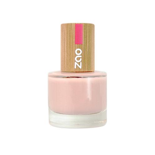 Zao '10' Free Nail Polish - Frosted Pink (675)