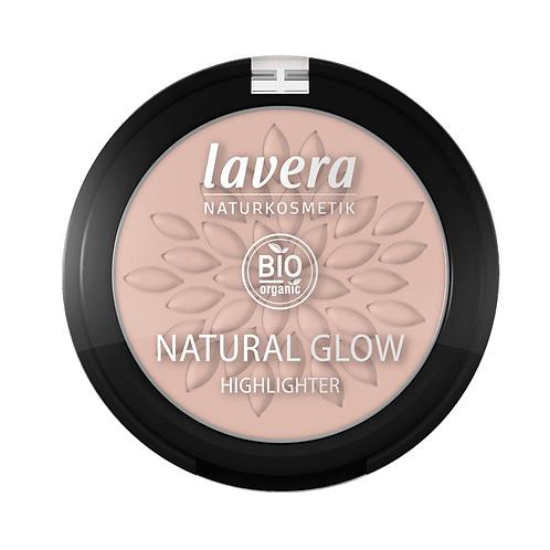 Lavera Natural Glow Organic Highlighter - Rosy Shine - 4.5g