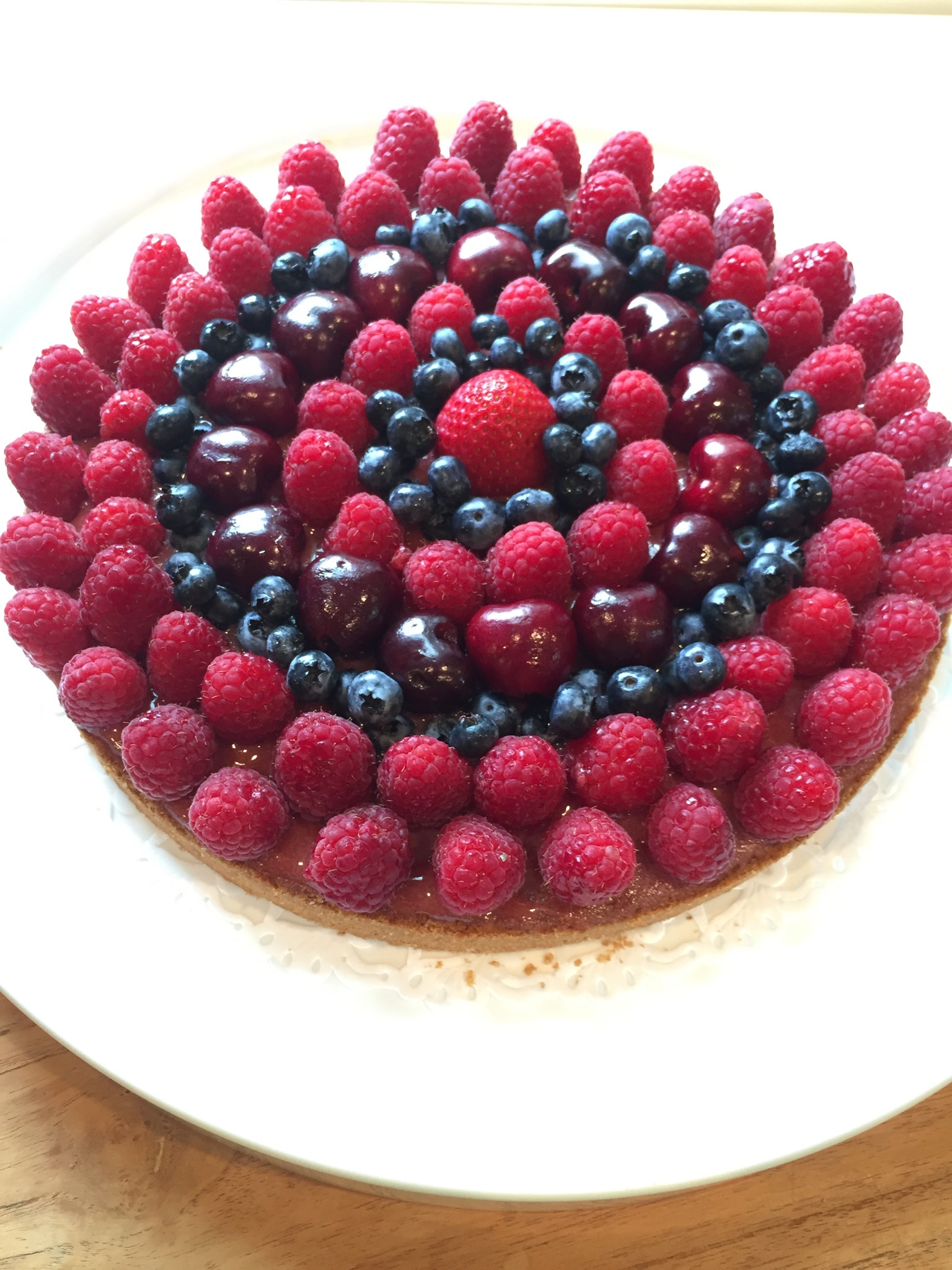 Berry Shortbread Tart