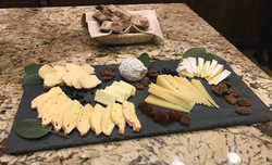 Tray of Local Cheeses