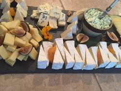 Cheese Tray with Figs