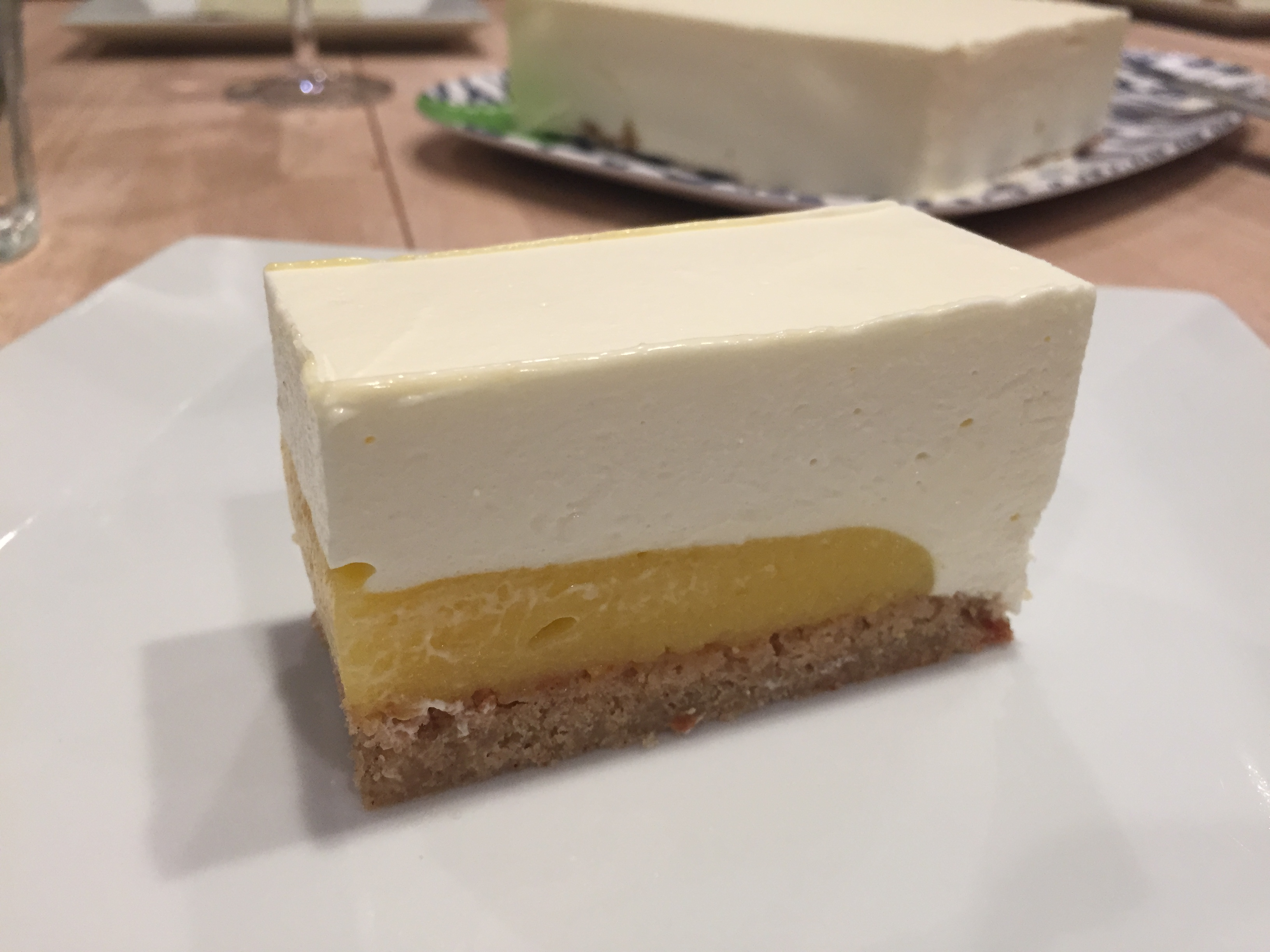 Light Lemon Entremet