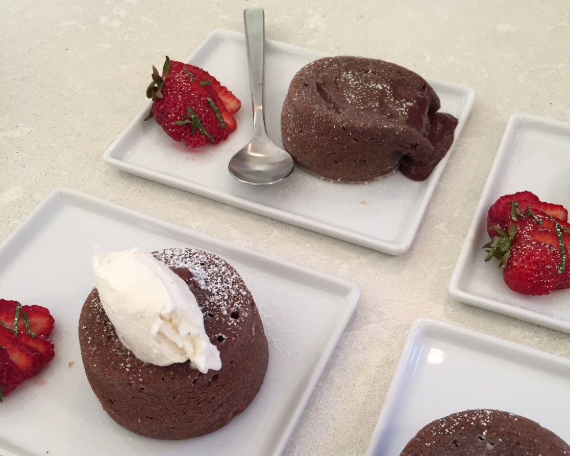 Chocolate-Lava Cake