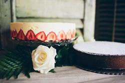 Fraisier and Gluten Free cake