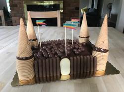 Castle Chocolate Cake