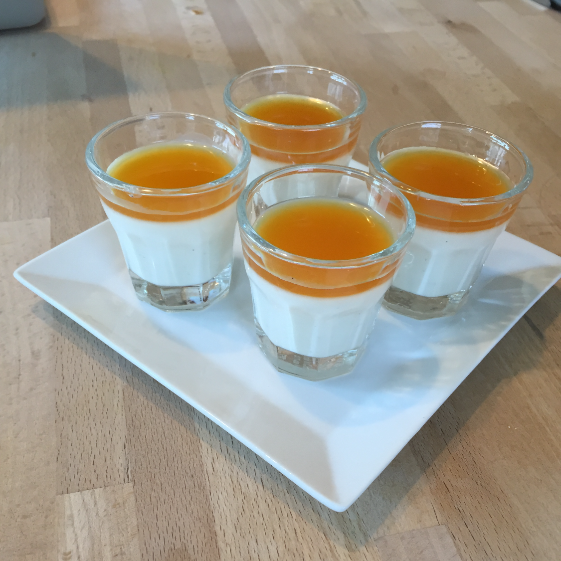 Vanilla Orange Panna Cotta