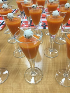 Chilled Bell pepper Soup