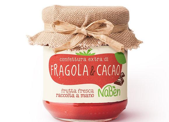 Confettura extra di FRAGOLA&CACAO Naben 212g