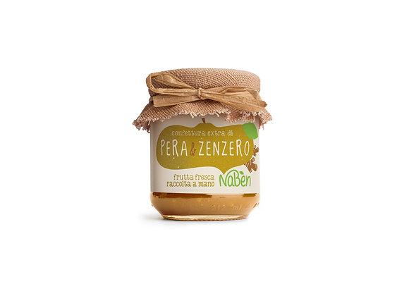 Confettura extra di PERA&ZENZERO Naben 212g