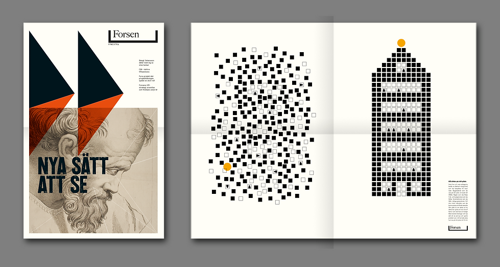 Forsen Forward i Broadsheet-format..