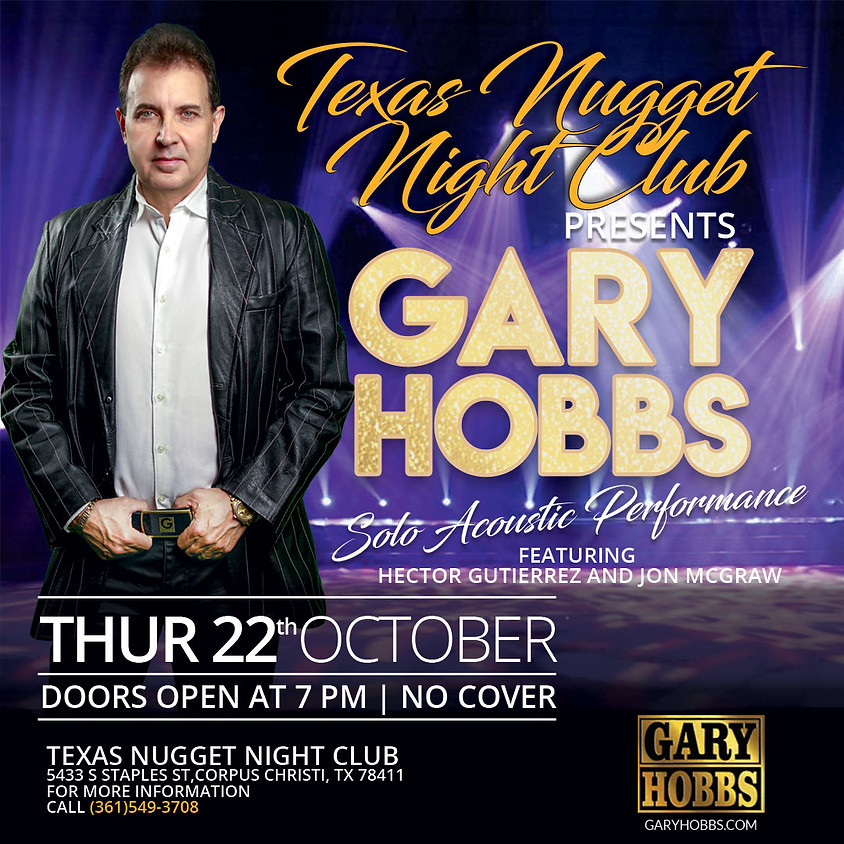 Texas Nugget Night Club - Solo Acoustic  Performance