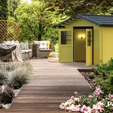 Gartenhäuser Satteldach - Tina