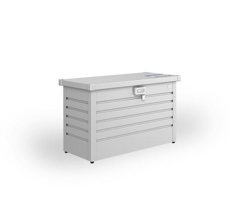 Paketbox 100 silbermetallic