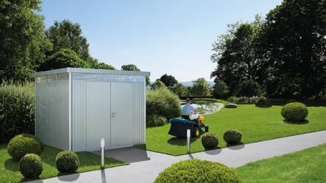 Gerätehaus HighLine® - mit Doppeltür