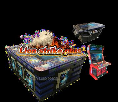 Lion Strike Plus BSG Fish Systems clear.