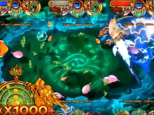 Poseidon's Realm - Ocean King 3 Skill Fish Hunter Arcade Game