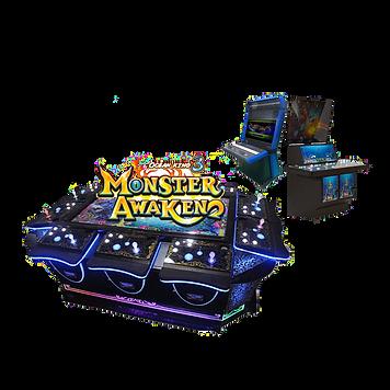 Monster Awaken IGS Fish Game System clea