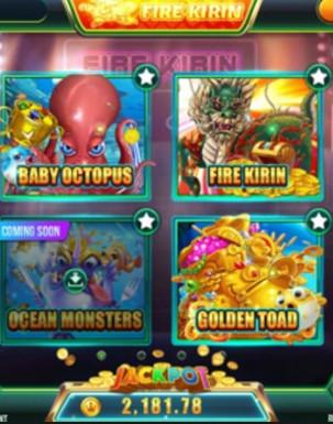 Fire Kirin Game List