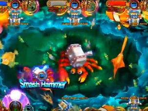Poseidon's Realm - Ocean Kings 3 Skill Fish Hunter Arcade Game