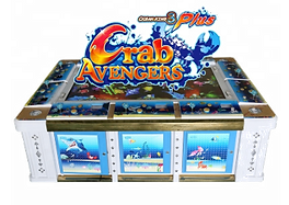Crab Avengers Fish Hunter Arcade Game in an Ocean King 3