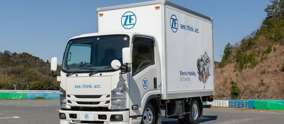 ZF представляет прототип 5-тонного электрического грузовика