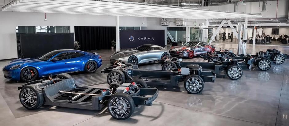 Karma Automotive разработала 5 платформ E-Flex для электромобилей