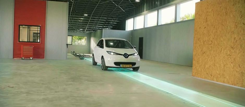 Компания ElectReon показала эффективную индукционную зарядку электромобилей в движении